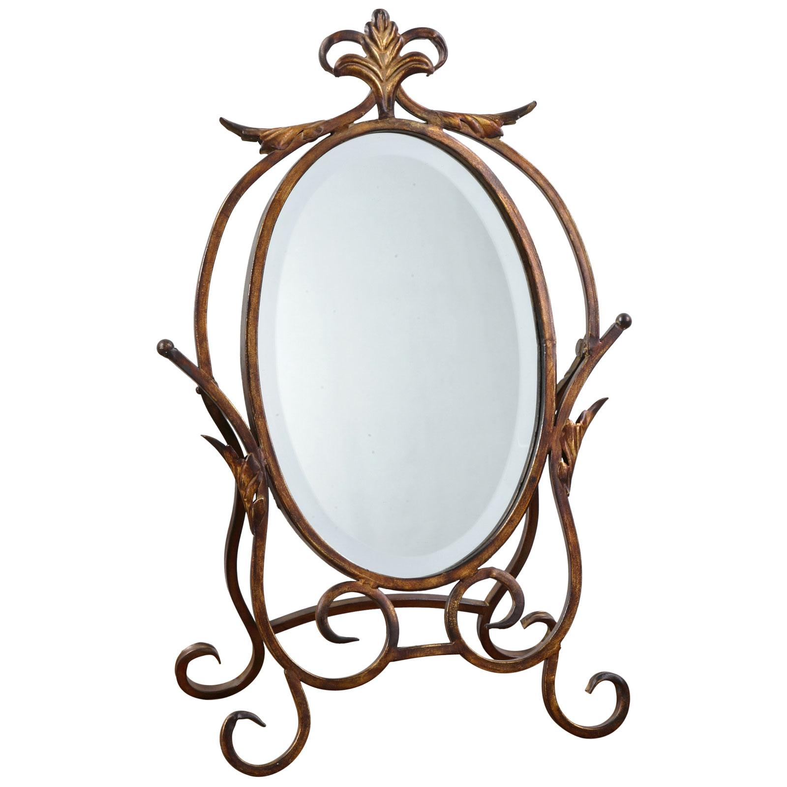 Caron Metal Bath Mirror - Bathroom Mirrors at Simply Mirrors