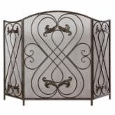 Uttermost 3 Panel Effie Fireplace Screen