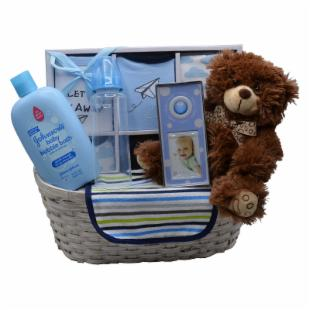Nikki&#39;s by Design New Arrival Baby Gift Basket