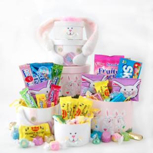 Nikki&#39;s by Design Happy Easter Bunny Treat Gift Tower
