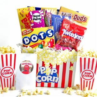 Redbox Movie Night Gift Basket
