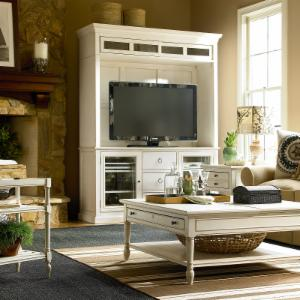 Summer Hill Entertainment Console and Deck - Cotton