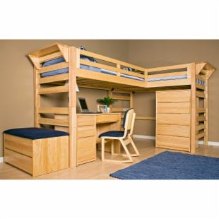 Wood Bunk Bed Plans Xl Twin - DIY Woodworking Projects