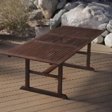 Cabos Collection Extension Outdoor Dining Table