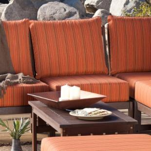 Cabos Sectional Chair with Convertible Arm