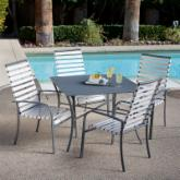  Madison Strap Dining Set - Seats 4