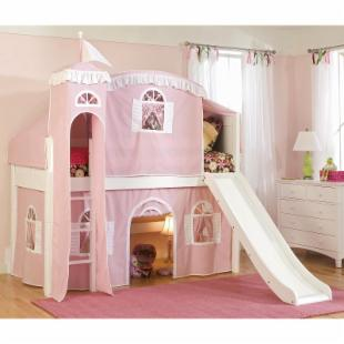 Cottage Deluxe Low Loft Tent Bed