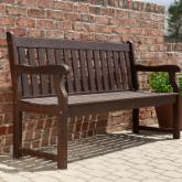 Ellsworth 5-ft. Garden Bench - Cocoa