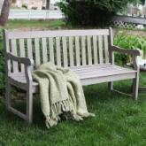 Ellsworth 5-ft. Garden Bench - Driftwood