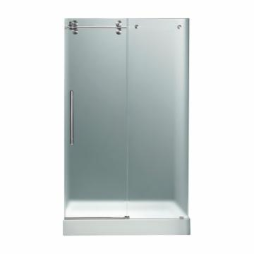 Vigo VGWM WH Frosted Glass Shower Door Base 72 5719