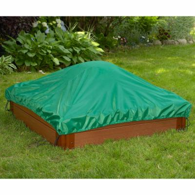  Frame It All Square Sandbox Cover   4L x 4W ft.