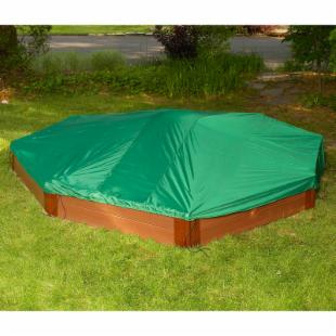Frame-It-All Hexagon Sandbox Cover - 8L x 7W ft.