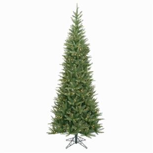 6.5 ft. Carolina Fir Slim Pre-lit Christmas Tree