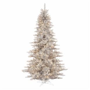 Vickerman Silver Fir Pre-lit Christmas Tree