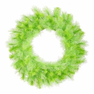 Vickerman 30 diam. in. Lime Cashmere Wreath