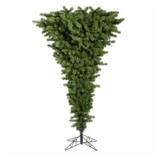 Vickerman Green Upside Down Pre-lit Multi Christmas Tree