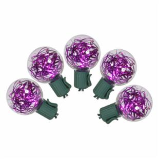 Vickerman 25 Light Purple LED G40 Tinsel