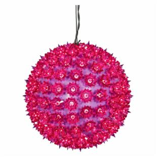 Vickerman Purple Twinkle Star Sphere - 150 Lights