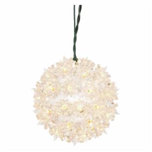 Vickerman Clear Starlight Sphere - 50 Lights