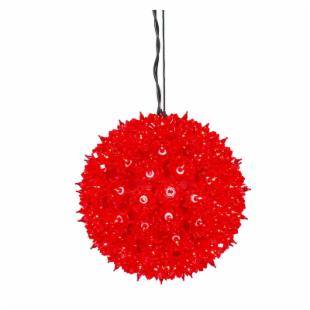 Vickerman Red Starlight Sphere - 100 Lights
