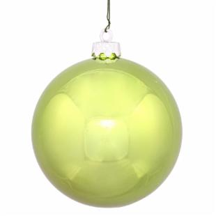 Vickerman 10 in. Lime Shiny Ball