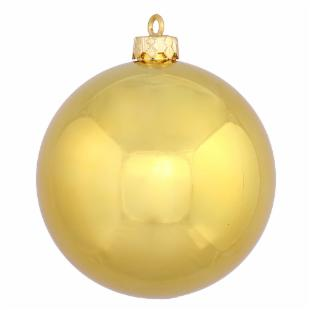 Vickerman 16 in. Gold Shiny Ball