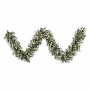 Vickerman 9 ft. Frosted Cashmere Garland