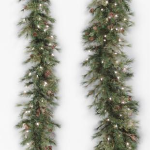 Vickerman 6 ft. Mixed Country Swag Garland
