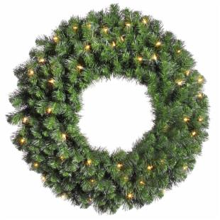 Vickerman 36 in. Douglas 2 Sided Wreath