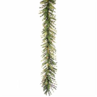 16 in. x 9 ft. Mixed Country Pine Unlit Garland