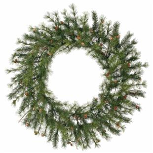 48 in. Mixed Country Pine Unlit Christmas Wreath