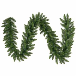14 in. x 50 ft. Camdon Fir Unlit Garland