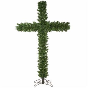 7.5 ft. Pre-lit Christmas Cross