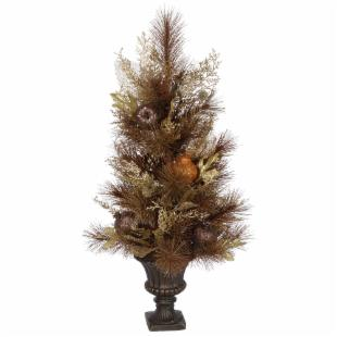 30 in. Harvest Sparkle Potted Tree