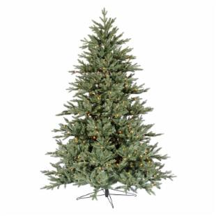 Blue Noble Fir Pre-lit LED Christmas Tree