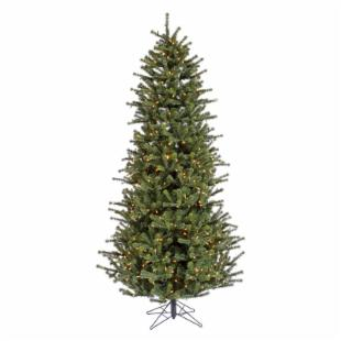 Carver Slim Frasier Pre-lit Christmas Tree