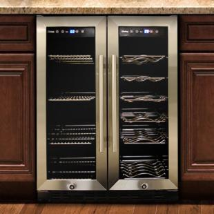 Vinotemp VT-36 Butler Series Dual Zone Wine and Beverage Cooler