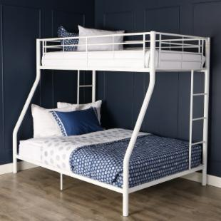 Sunrise Twin over Full Bunk Bed - White