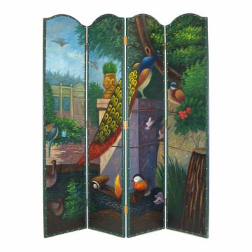 Superb-quality Wayborn Peacock Screen Room Divider 224 - 2324