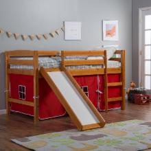  Alexander Tent Twin Loft Bed with Slide
