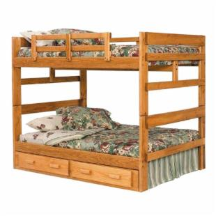 Heartland Full over Full Bunk Bed by Woodcrest