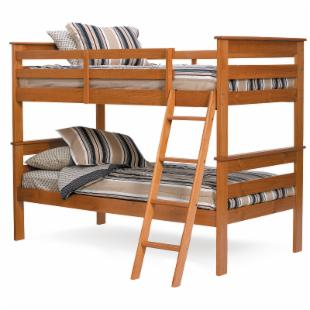 Pine Ridge Twin over Twin Bunk Bed