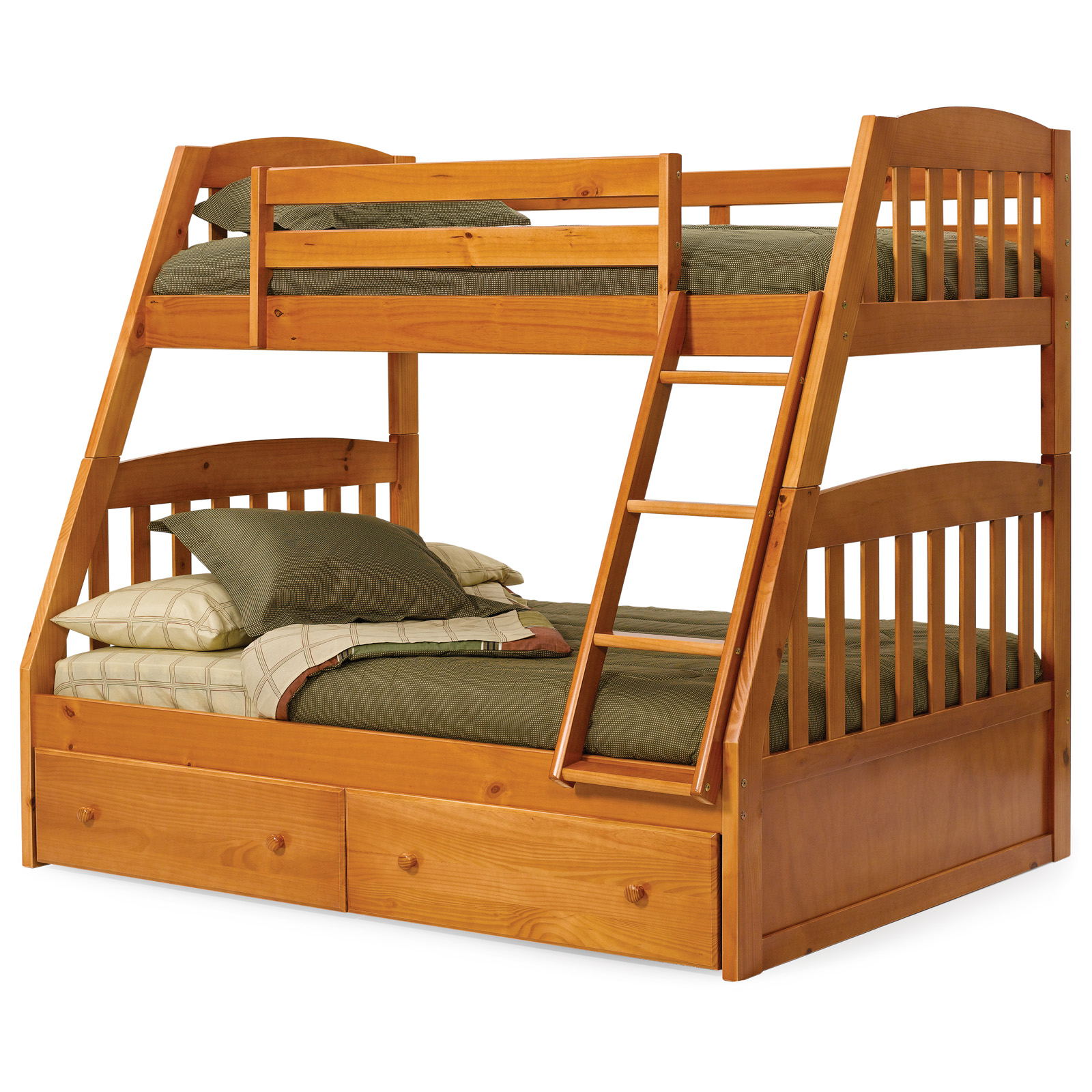 Woodwork Twin Over Full Bunk Beds PDF Plans