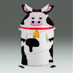 Cow Laundry Hamper