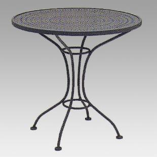 Woodard Cafe Seating Round Pattern Top