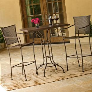 Woodard Amelie Bar Height Patio Dining Set - Seats up to 4