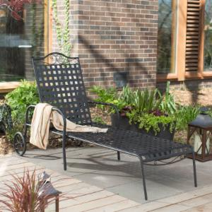 Chaise Lounge With Wheels On Hayneedle Outdoor