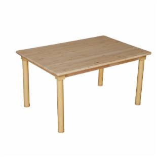 Wood Designs Rectangle 30 x 48 Adjustable Table