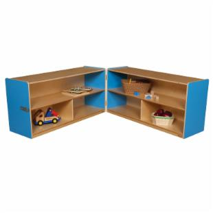 Wood Designs 24H in. Folding Versatile Storage Unit