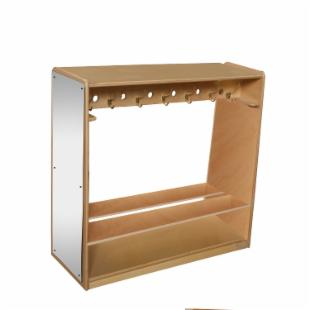 Wood Designs Mobile Double Sided Locker